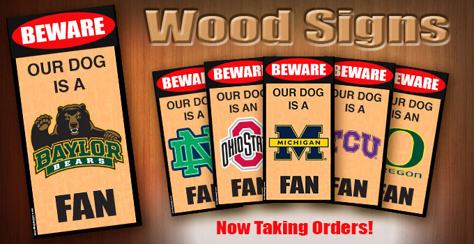 New Products - Wood Signs